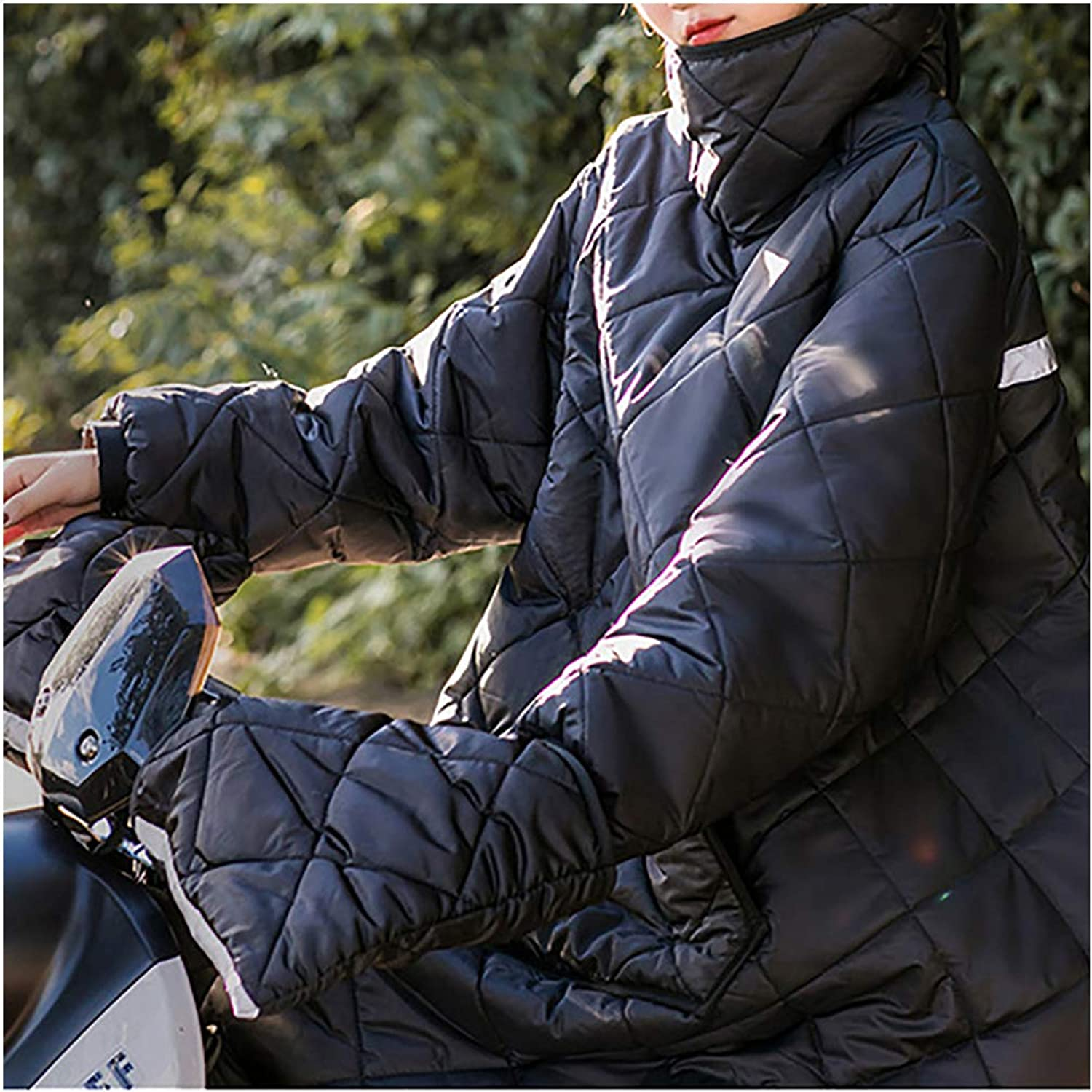 Electric Car Windshield, Winter Battery Car Windshield Cover Winter Clothes, Knee Pads Thick Warm and Velvet Motorcycle