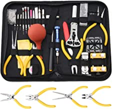 Professional Watch Repair Tool Kit - Watchmaker Tool Kit, Including Watch Back Case Holder Opener Link Remover Spring Bar ...