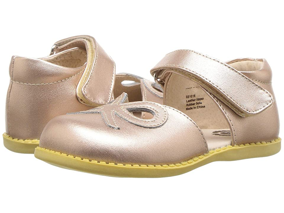 Livie & Luca Bow (Toddler/Little Kid) (Rose Gold Metallic) Girl