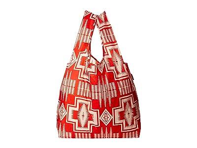 Pendleton Big Baggu (Harding Red) Tote Handbags