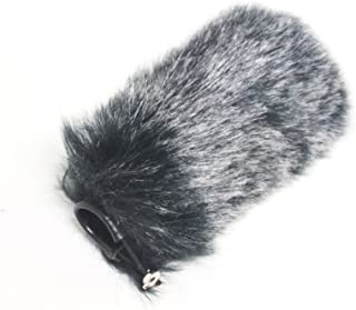 Bestshoot Microphone Muff, Furry Wind Screen Protective Dead Cat for Camera Shotgun Takstar SGC-598, Audio Tech ATR875R AT897, Neewer NW-81, Rode NTG, Boya BY-1000