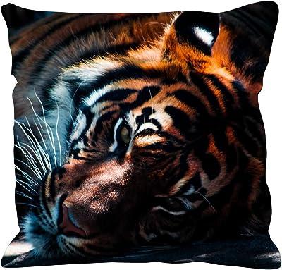 Amazon.com: Tigre blanco seda sintética 17.7 x 17.7 inch ...