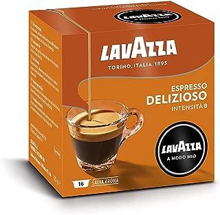 Lavazza A Modo Mio Espresso Delizioso 96 Pods for Capsule Coffee Machine, Medium