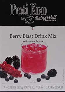 Proti Kind Berry Blast Drink Mix - 7 Servings - 15 g Protein per Serving