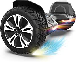 Gyroor Hoverboard Warrior 8.5 inch All Terrain Off Road Hoverboard with Music Speakers and LED Lights,UL2272 Certified Sel...