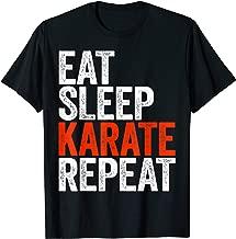 Eat Sleep Karate Repeat T-Shirt T-Shirt