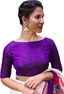 Best purple saree with red blouse Reviews