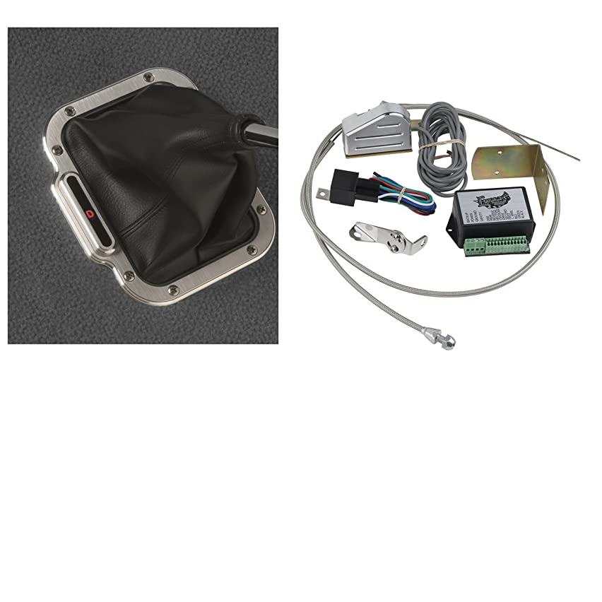 Lokar CINB-1784 Vertical Rectangular Cable Operated LED Boot Indicator Kit for AOD Transmission
