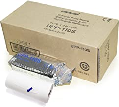 UPP-110S Type I Black And White Video Thermal Bx/10 New for Sony Pinter 110mm x 20m (10 ROLLS)