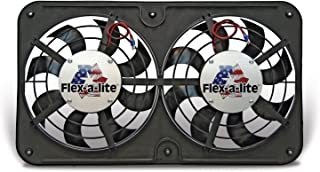Flex-a-lite 410 Lo-Profile S-Blade Dual Electric Puller Fan
