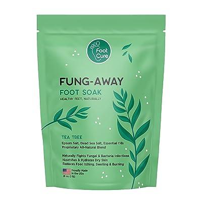 Foot Cure Tea Tree Oil Foot Soak with Epsom Salt