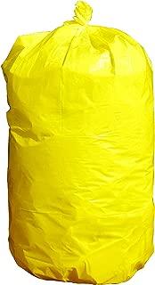 Durable Facilities Maintenance Quality Trash Bags (40-45 Gallon, BRIGHT YELLOW)