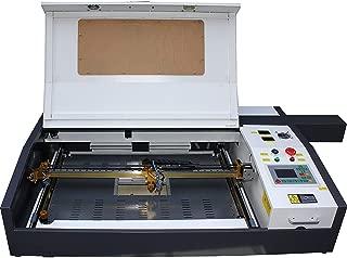 TEN-HIGH CO2レーザー彫刻機DIY加工機 400mm*600mm 60W 110V USBケーブル接続可 Offline版