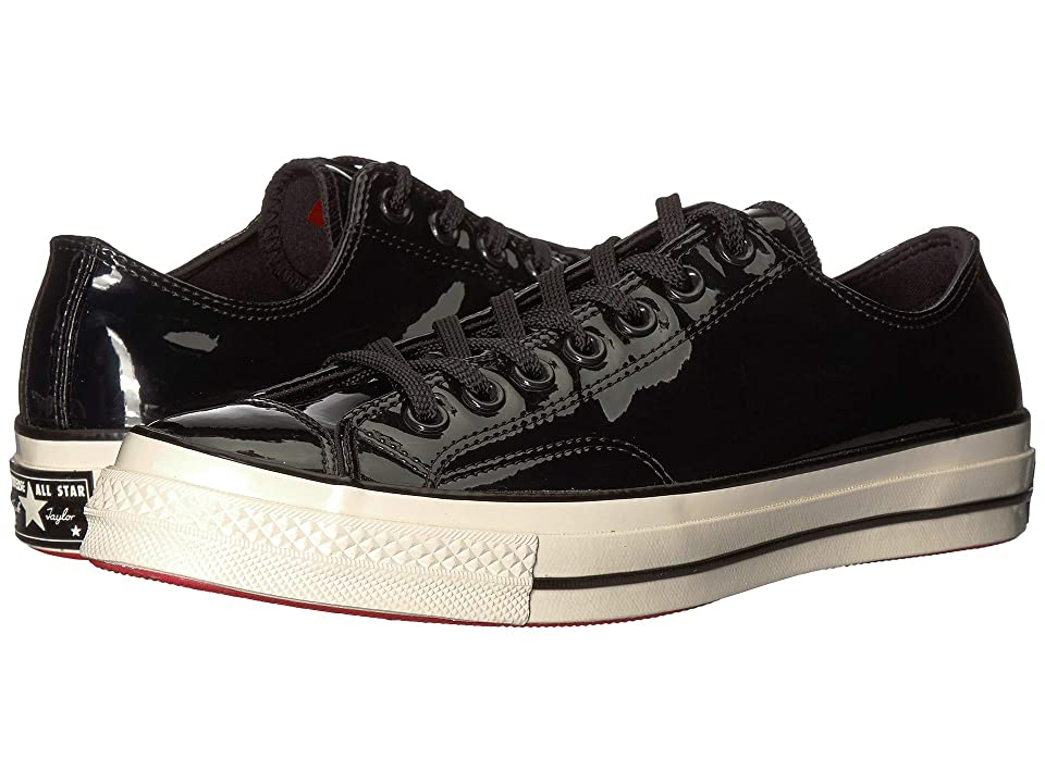 0878c987a010 Converse Chuck 70 Leather Ox (Black Black Egret) Lace up casual Shoes