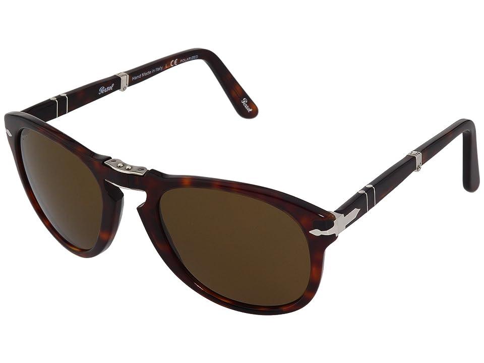 Persol PO0714P - Polarized (Havana/Brown Polarized) Sport Sunglasses