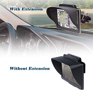 TFY Visera Parasol Navegador GPS más Extensión Pieza Visera Flexible para Garmin nüvi Portable GPS y Otros GPS (7 Pulgadas)