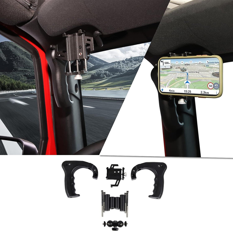 Special sale item Voodonala for Jeep JK Front Metal Phone Holder Handles Grab 55% OFF Mo