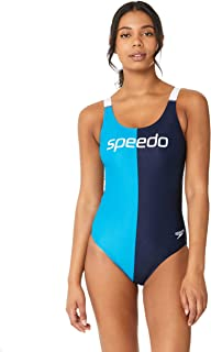 Speedo Women's 2 Tone LEADERBACK ONE Piece