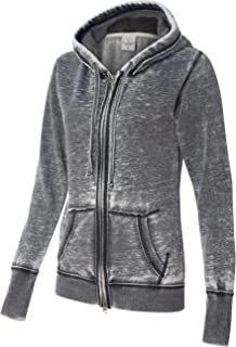 Ladies ZEN Full Zip Hooded Sweatshirt