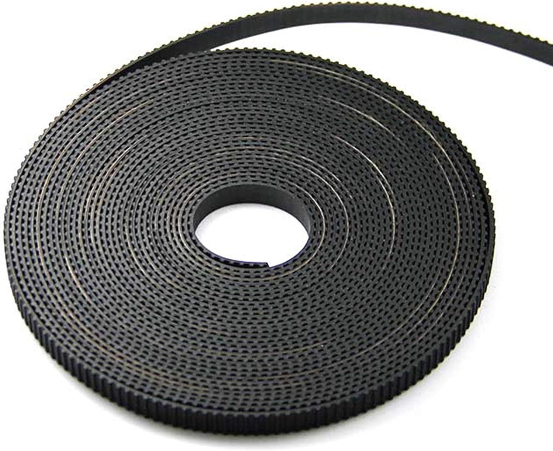 Gummi Length : 1 Meters, Width : Width 6mm 2GT-6 // 2GT-9mm Kleiner Spiel f/ür 3D-Drucker CNC 2GT-G/ürtelscheibe ZHaonan-Zahnriemen GT2 Timing G/ürtel Wide 6mm hohe Qualit/ät Ersatzteile