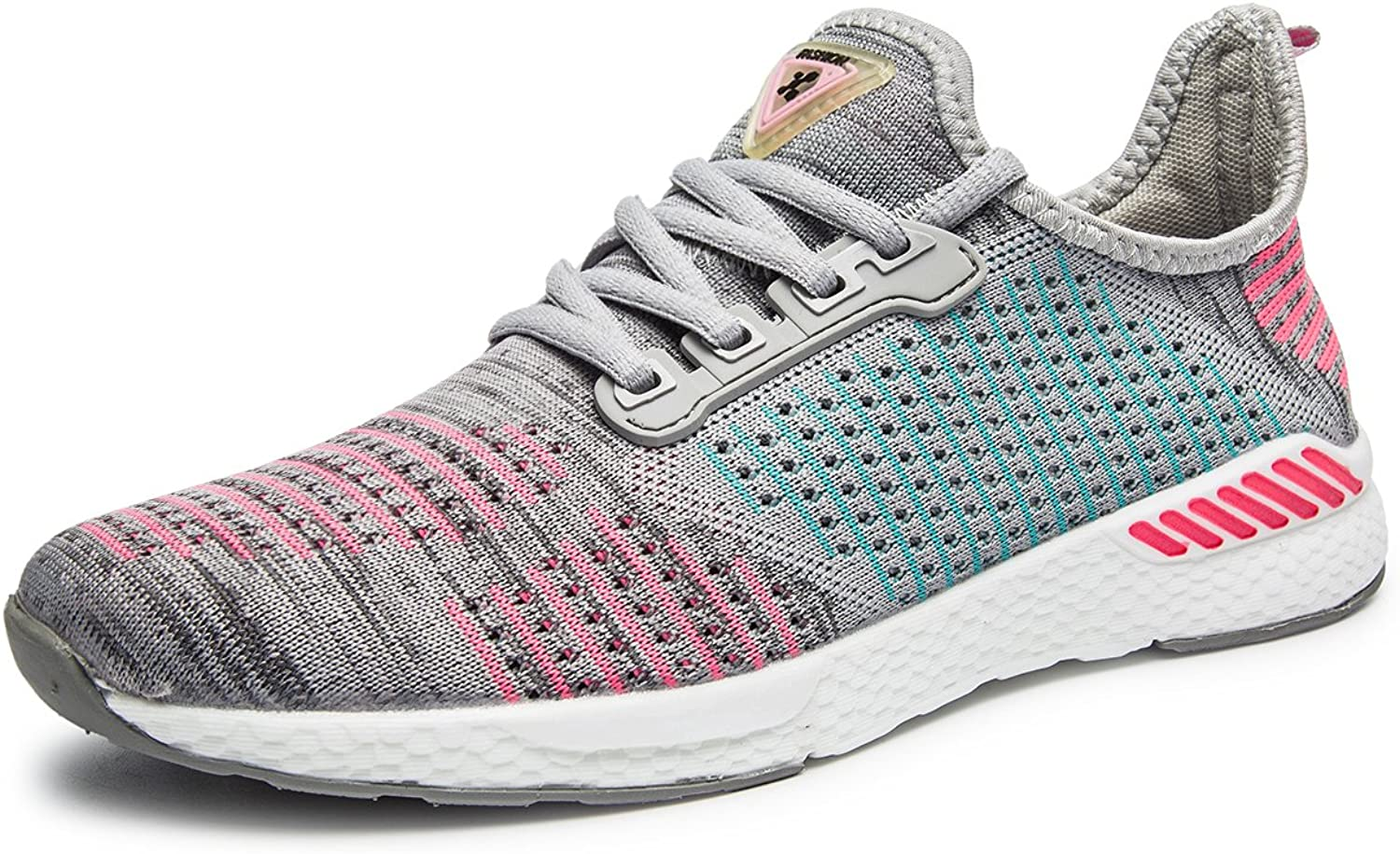 ABDVOOD Men Women Road Running shoes Lightweight Breathable Knitted Walking shoes Jogging Sneakers