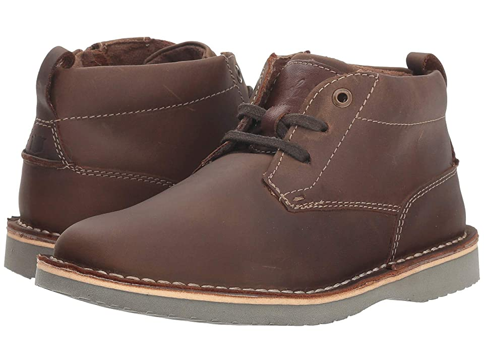 Florsheim Kids Navigator Chukka Jr. (Toddler/Little Kid/Big Kid) (Brown Crazy Horse) Boys Shoes
