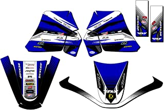 SCATTER Team Racing Graphics kit compatible with Yamaha 2000-2008 TTR 90