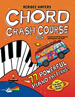 Meridee Winters Chord Crash Course: A Teach Yourself Piano B