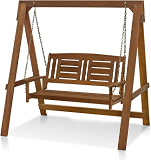 Best wooden patio swing Reviews