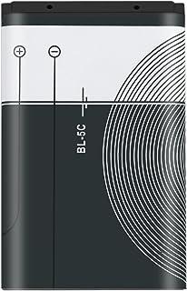 Heraihe 1 st 1020 mAh kapacitet BL-5C telefonladdare batteri för Nokia BL-5C 3,7 V 3,8 Wh intelligent batteri