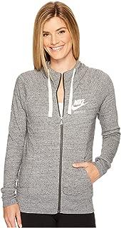 Nike Women's Sportswear Hoodie Carbon Heather/Sail Size X-Large