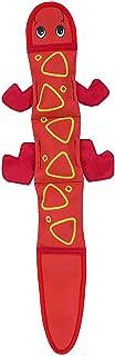 Outward Hound Hound Fire Biterz Lizard 3 Squeak Red Dog Toy