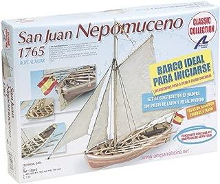 Artesanía Latina 18010 - Maqueta de Barco en Madera: Lancha del San Juan Nepomuceno