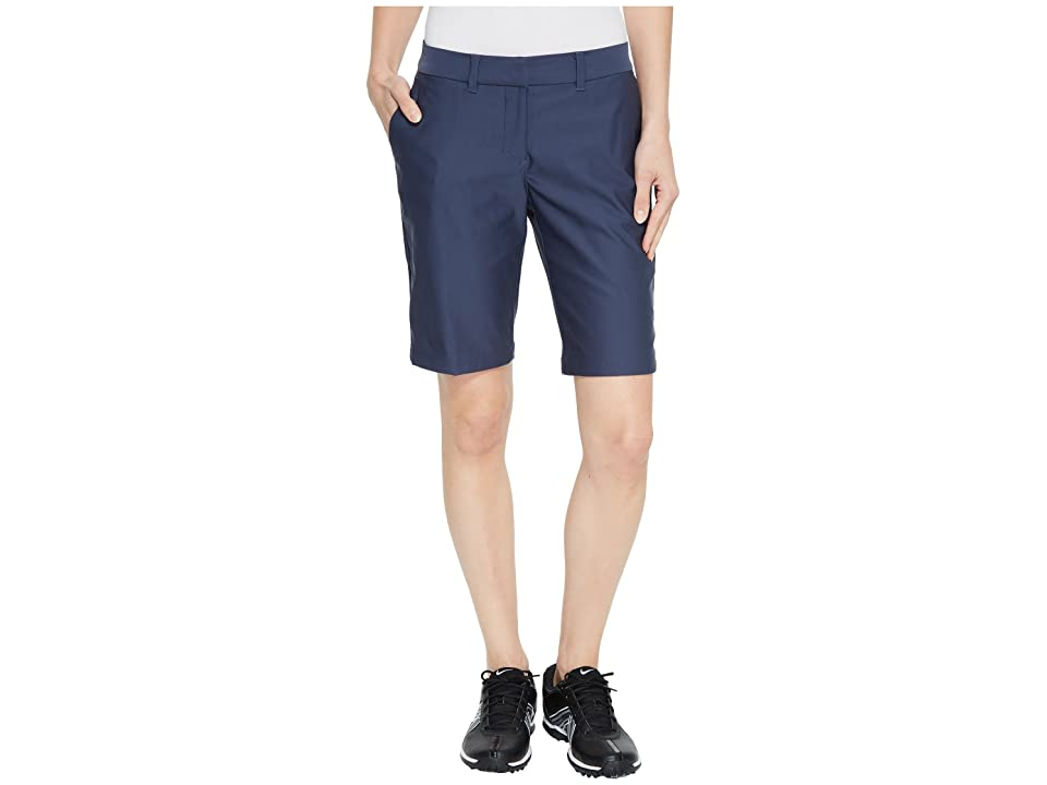 Nike Golf Flex Shorts Woven 10 (Thunder Blue/Thunder Blue) Women