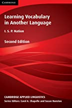 Learning Vocabulary in Another Language Intrinsic eBook (Cambridge Applied Linguistics)