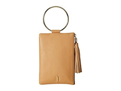 THACKER Nolita Clutch (Fawn/Gold) Handbags
