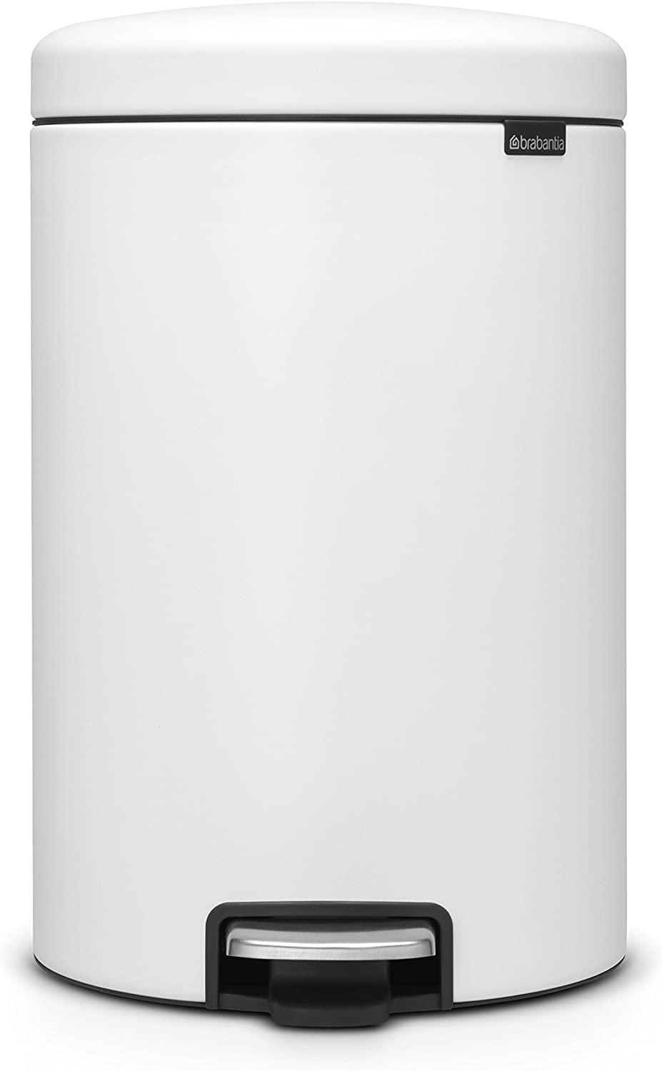 Brabantia Mineral Finish newIcon Step 5.3 Gal can White Max 50% OFF Trash Sale SALE% OFF