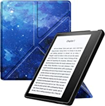 Fintie Origami Case for Kindle Oasis (Previous 9th Gen, 2017 Release) - Slim Fit Stand Cover Support Hands Free Reading with Auto Wake Sleep (Not Fit All-New Kindle Oasis 10th Gen, 2019), Starry Sky