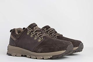 كاتربيلار حذاء احمر داكن -رجال