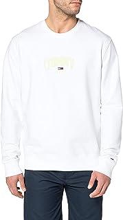 Tommy Jeans Men's TJM Lightweight Tommy Crew Sweater