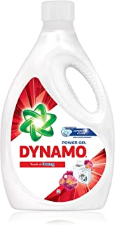 DYNAMO Power Gel Laundry Detergent, Freshness of Downy, 3.4kg