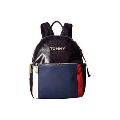 Tommy Hilfiger Akela Backpack (Navy/Multi) Backpack Bags