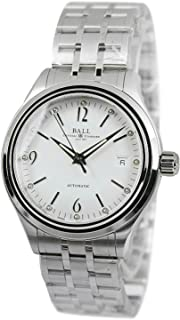 Ball Train Streamliner Men's Stainless Steel Automatic Watch NM1060D-SJ-WH