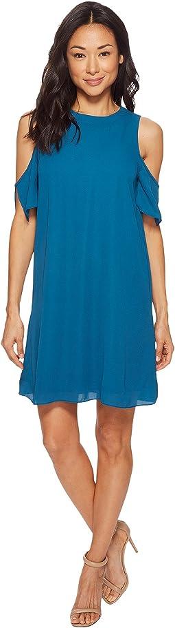 American Rose Emma Cold Shoulder Dress