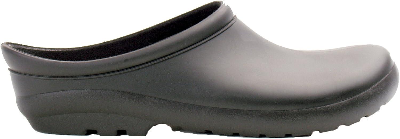 Sloggers 260BK07 Max 42% OFF Womens Premium Black safety Size Clog 7