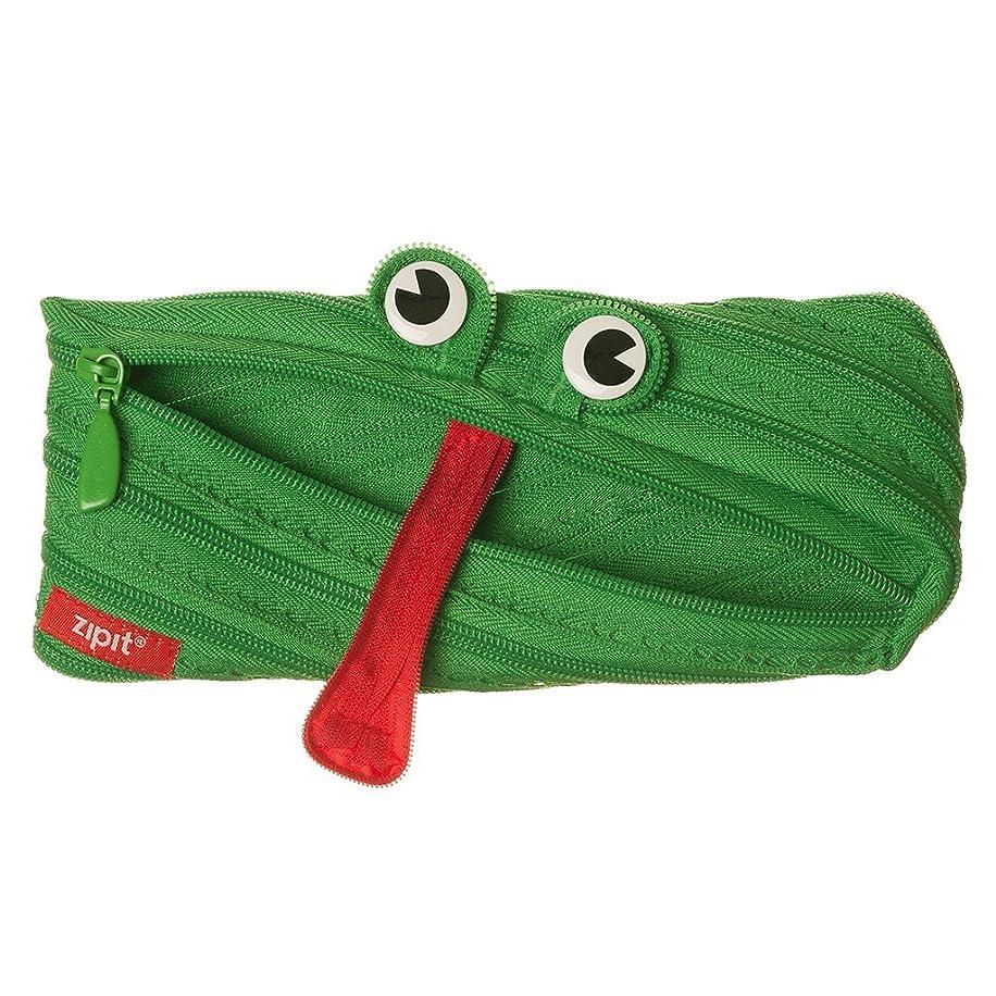 ZIPIT Animals Pencil Case, Frog