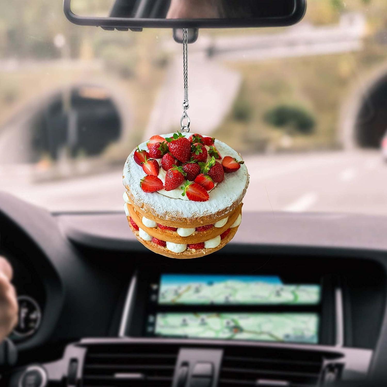 Cake Strawberry Car latest Choice Hanging PCS Ornament 10