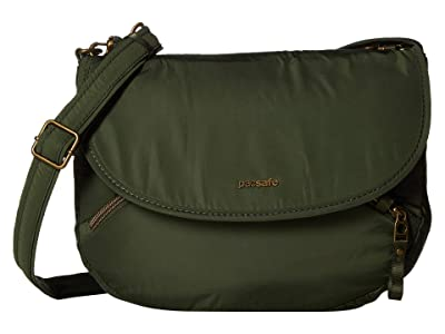 Pacsafe Stylesafe Anti-Theft Crossbody Bag (Kombu Green) Cross Body Handbags