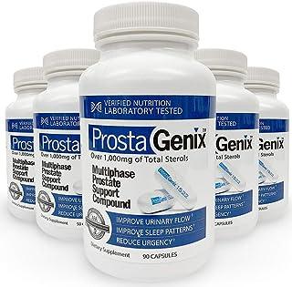 ProstaGenix Multiphase Prostate Supplement -5 Bottles- Featured on Larry King Investigative TV Show - Over 1 Million Sold...