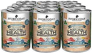 Ivory Coat Lamb & Sardine Stew 400g Wet Dog Food, Adult and Senior, 12 Case